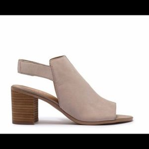Franco Sarto Shoes - New Franco Sarto Helix Leather Suede Chic Sandals